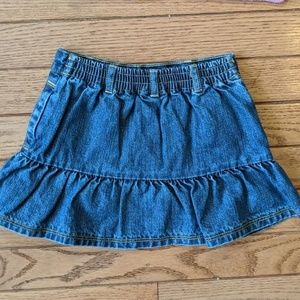 Gymboree Matching Sets - Stripe Sweater and Denim Skirt Gymboree
